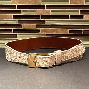 """Dooney And Bourke Leather Vintage Belt 30"""""""